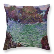 Port-goulphar Throw Pillow