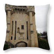 Porte Du Croux Nevers  Throw Pillow