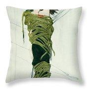 Portrait Of Ida Lvovna Rubinstein Throw Pillow