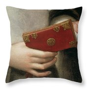 Portrait Of The Artists Sister Throw Pillow