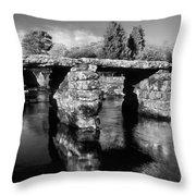 Postbridge Throw Pillow