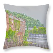 Prattville Hdr Throw Pillow