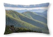 Presidential Range - White Mountains New Hampshire Throw Pillow