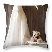 Pretty Dress Throw Pillow