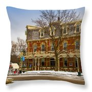 Prince Of Wales Hotel In Niagara On The Lake Throw Pillow