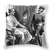Prince Otto Von Bismarck (1815-1898) Throw Pillow
