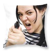 Prison Breakout Throw Pillow
