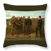 Prisoners From The Front Throw Pillow