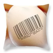 Product Identification Throw Pillow