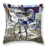 Psychedelic Old Surrey 1 Throw Pillow