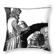 Pyle King Arthur Throw Pillow