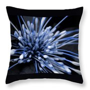 Q-tip Flower Throw Pillow