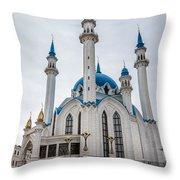 Qolsharif Mosque Throw Pillow