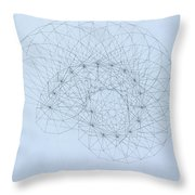 Quantum Nautilus Throw Pillow