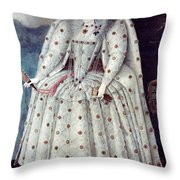Queen Elizabeth I (1533-1603) Throw Pillow