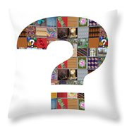 Question Symbol Showcasing Navinjoshi Gallery Art Icons Buy Faa Products Or Download For Self Printi Throw Pillow