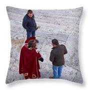 Quo Vadis Throw Pillow