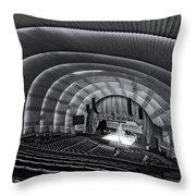 Radio City Music Hall Theatre Throw Pillow