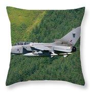 Raf Tornado - Low Level Throw Pillow