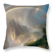 Rainy Season In The Tropics Throw Pillow