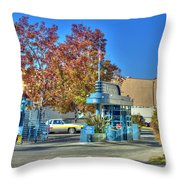 Raleigh Studios Hollywood Ca Film Production Stages Throw Pillow