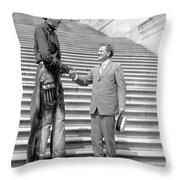 Ralph E Throw Pillow