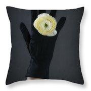 Ranunculus Throw Pillow by Joana Kruse