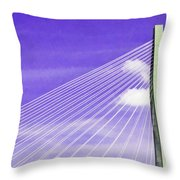 Ravenel Bridge # 2 Throw Pillow