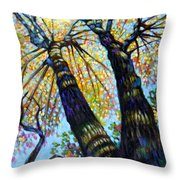 Reaching For The Light Throw Pillow