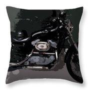 Ready To Ride Throw Pillow