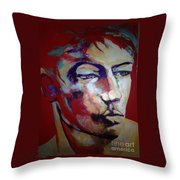 Red Blooded American Throw Pillow