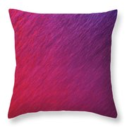 Red Bubbles IIi Throw Pillow