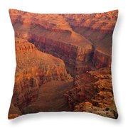 Grand Canyon From Kanab Point Throw Pillow