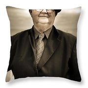 Reminiscing Days Bygone  Throw Pillow