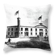 Republican Convention, 1860 Throw Pillow