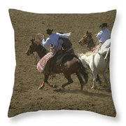Rescued Throw Pillow