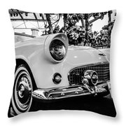 Retro Car Throw Pillow