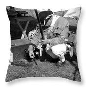 Revolutionary War Battle Site Throw Pillow