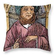 Rhazes (850-923) Throw Pillow