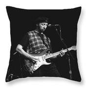 Musician Richard Thompson Throw Pillow