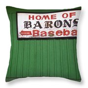 Rickwood Field Throw Pillow