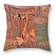 Rim Rock Colorado Throw Pillow