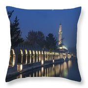 Rizvaniye Mosque And Halil-u Rahman Throw Pillow