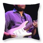 Robert Cray Throw Pillow