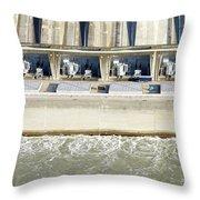 Robert Moses Niagara Hydroelectric Power Station Throw Pillow