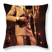 Robert Palmer Throw Pillow