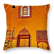 Room For Rumi's Sarcophagus In Konya-turkey  Throw Pillow