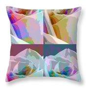 Rose Four Throw Pillow