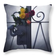 Roses Throw Pillow by Joana Kruse