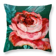 Roses Roses Throw Pillow